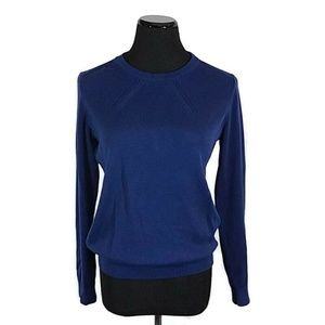 Banana Republic Blue Pullover Knit Sweater